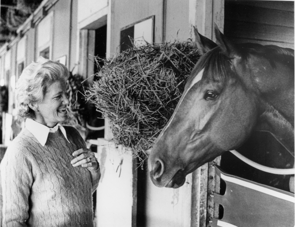 equicurean penny chenery and secretariat photo